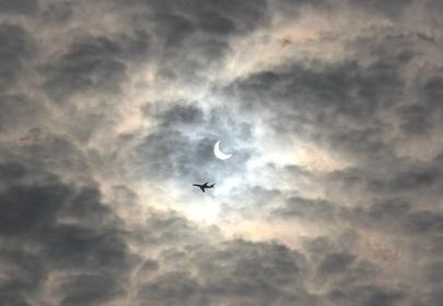 金環日食,Solareclipse,eclipse,日本,cloud,sky,outdoor,雲,空