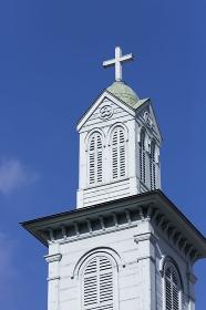 旧出島神学校の鐘楼