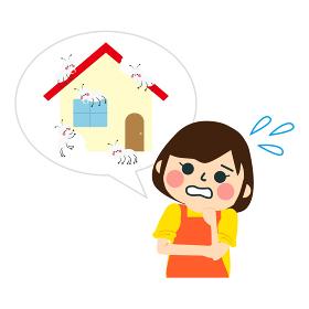 家のトラブル / 害虫の白蟻