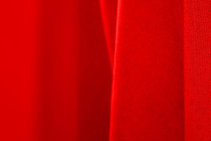 赤色のニット生地の背景素材 6474