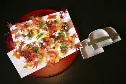 秋をイメージした料理