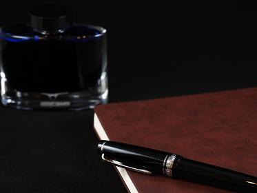 万年筆と手帳