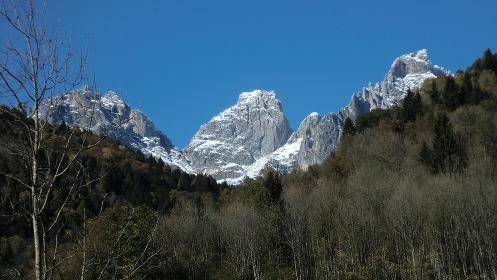 Mountain detail on Dolomites 4