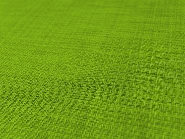 編み込みテクスチャ あおり緑 細