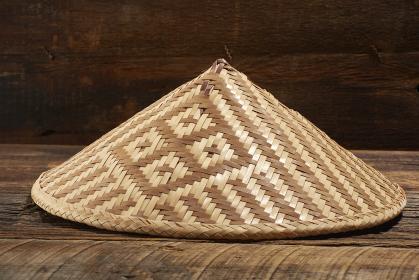 飛騨の伝統工芸品 「宮笠」のフォルム