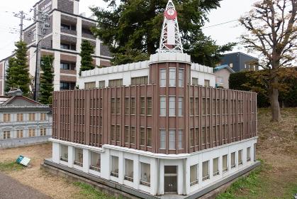 弘前市ミニチュア建造物