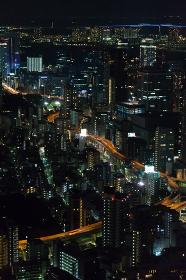 都市のイメージ(交通・夜景・ビル群)