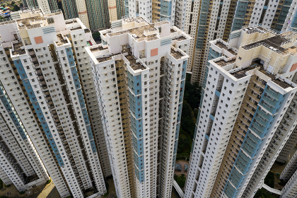 Tin Shui Wai, Hong Kong, 02 September 2018:- Hong Kong apartment