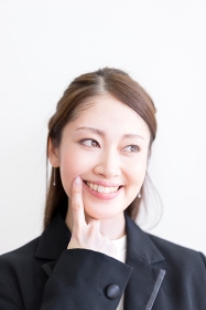 女性・健康な歯・オーラルケア