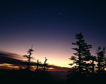 白根山の黎明