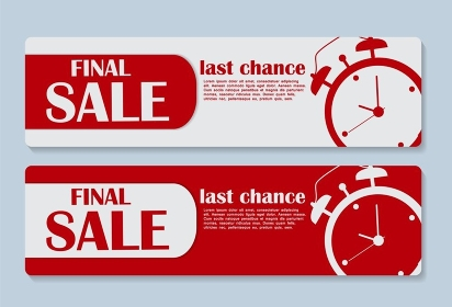 Sale Banner with Place for Your Text. Vector Illustration EPS10. Sale Banner with Place for Your Text. Vector Illustration