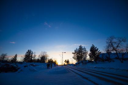フィンランド(サーリセルカ)