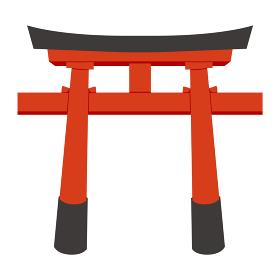 日本文化素材 / 縁起物鳥居