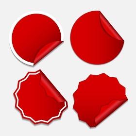 Sale Sticker, Banner Template Set Vector Illustration EPS10. Sale Sticker, Banner Template Set Vector Illustration
