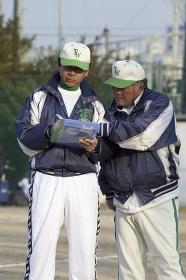 少年野球監督とコーチ