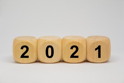 2021年 サイコロ イメージ素材