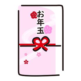日本文化素材 / 縁起物お年玉
