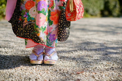 七五三の着物 七歳 女の子