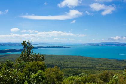 ランギトト島 展望台からの眺め
