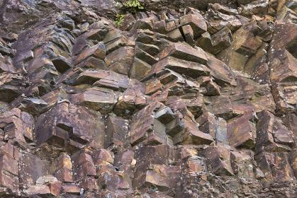 自然石の表面
