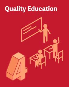SDGs ゴール4、質の高い教育をみんなに