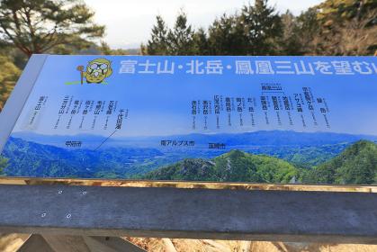 昇仙峡 羅漢寺山展望台