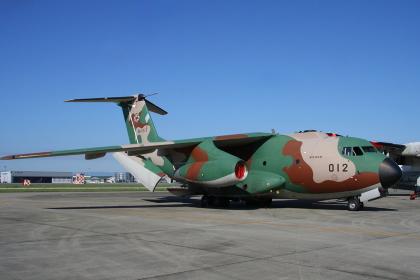 C-1輸送機の地上展示(2010年航空自衛隊小牧基地航空祭)