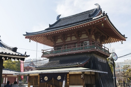 四天王寺の北鐘堂