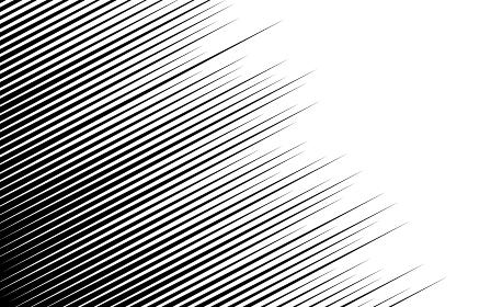 漫画風背景素材 斜めに走る流線の効果