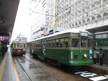 広島電鉄900形と570形