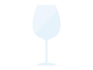 空のワイングラスのイラスト