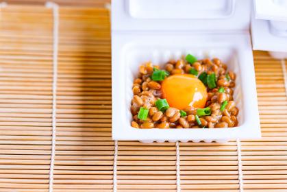 納豆パック たまご 発酵食品 ヘルシーフード 【 和食 イメージ 】