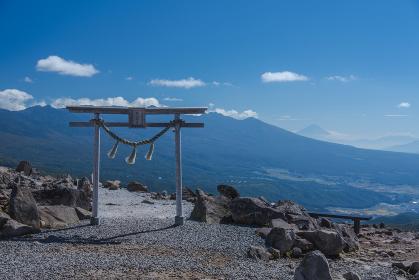 車山山頂からの絶景(車山神社)