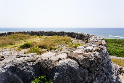 日本最南端、沖縄波照間島・底名溜池展望台