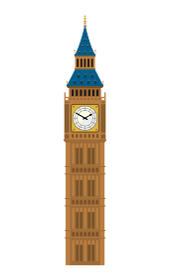 イギリス・ロンドン / ビッグベン | 世界の有名な建築物(遺跡・建物・世界遺産・ランドマーク)
