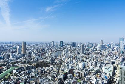 東京パノラマ 恵比寿の高層ビルから望む街並み