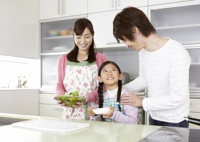 キッチンの親子