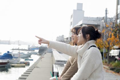 友達と尾道観光