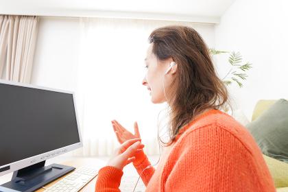 オンライン英会話・インターネット授業・ネイティブ英会話イメージ