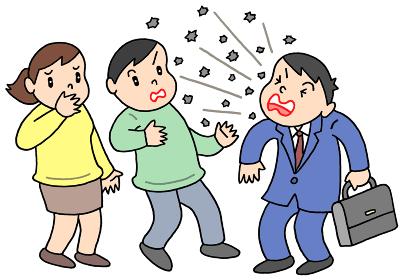 くしゃみ・咳による飛沫