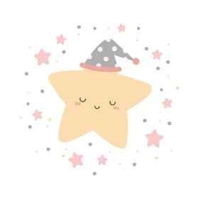 かわいい星のキャラクター