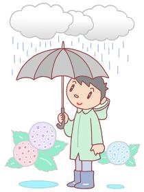 梅雨・雨降り