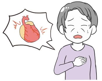 動悸 心臓付き 高齢女性