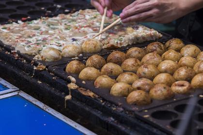 祭りの食 たこ焼き