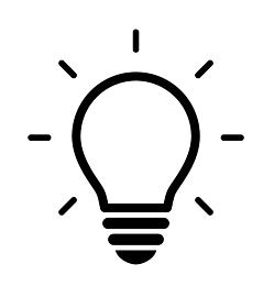 電球のアイコンセット