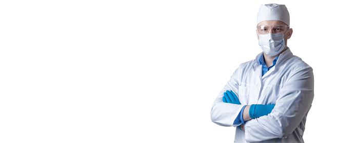 Doctor against new Coronavirus 2019-nCoV