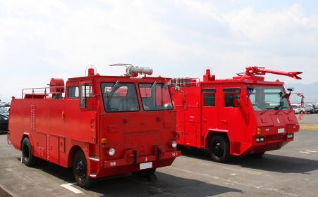 岩国基地の消防車(2010年岩国航空基地祭)
