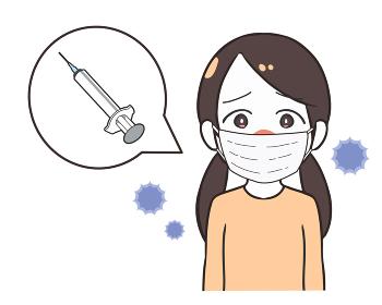 ワクチンを接種 女の子