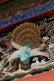 日光 東照宮 回廊胴羽目大彫刻