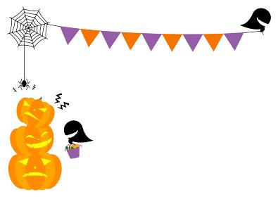 ハロウィンパーティーのイラスト 2